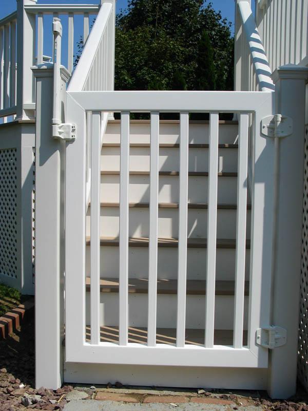 Custom welded PVC pool gate