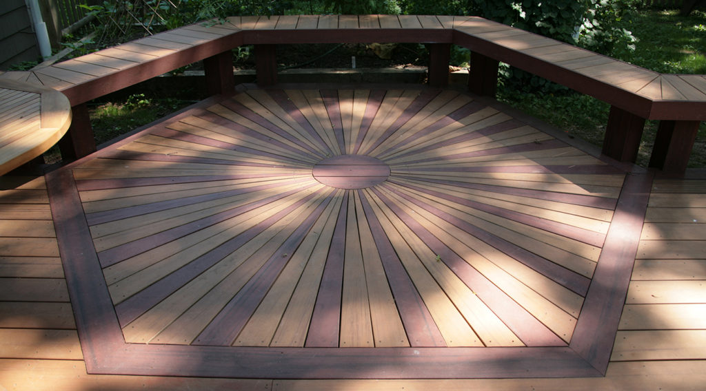 Sunburst Decking Inlay